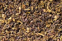 Tea leaves closeup Royalty Free Stock Photos