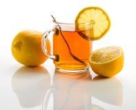 Tea with lemon . Stock Image