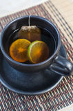 Tea with lemon Royalty Free Stock Photos