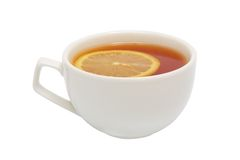Tea and lemon Royalty Free Stock Photos
