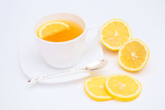 Tea with lemon. Stock Photos