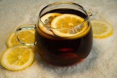 Tea with lemon Royalty Free Stock Photo