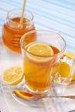 Tea with lemon and honey Royalty Free Stock Image