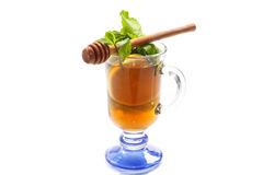 Tea with lemon and honey Royalty Free Stock Photography