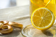 Tea with lemon. Stock Photography