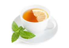 Tea with lemon Stock Photography