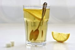 Tea and lemon Stock Photo