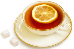 Tea with lemon Royalty Free Stock Photo