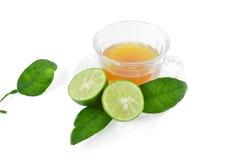 Tea and lemons Royalty Free Stock Photography