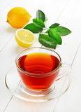 Tea and lemons Royalty Free Stock Image