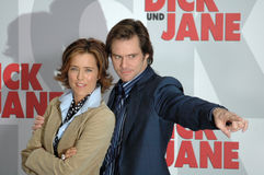 Tea Leoni, Jim Carrey Stock Fotografie