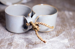 Tea and life for two Stock Photo