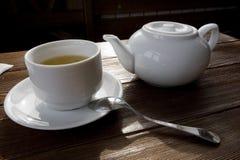 The tea lifestyle Stock Image