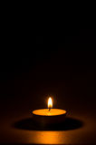 Tea light candle Stock Photography