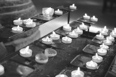 Tea light candles Royalty Free Stock Photos