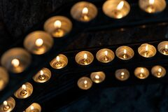 Tea lights Royalty Free Stock Image