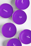 Tea lights Royalty Free Stock Photos