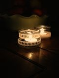 Tea lights Royalty Free Stock Images