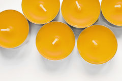 Tea lights Stock Photo