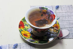 Tea with lime Stock Images