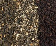 Tea Loose Dried Tea Leaves Stock Image