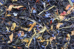 Tea. Lot of tea filling the picture Stock Image