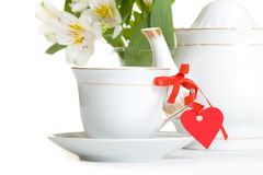 Tea with love Stock Photography
