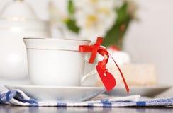 Tea with love Stock Photo