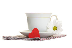 Tea with love Stock Image
