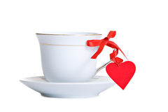 Tea with love Stock Photos