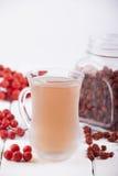 Tea made from dried rowan berries Stock Photo