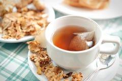 Tea maker Helianthus tuberosus Hot drinks Stock Images