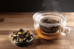 Tea making Stock Photo