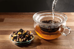 Tea making Stock Photos