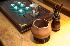 Tea making set Royalty Free Stock Photo