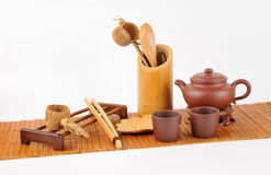 Tea making set Stock Images