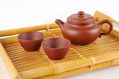 Tea making set Royalty Free Stock Photos