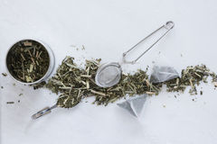 Tea Making Utensils Stock Photography