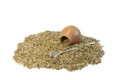 Tea Mate and calabash Stock Image