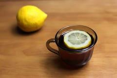 Tea med citronen Royaltyfria Foton