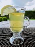Tea med citronen royaltyfria bilder
