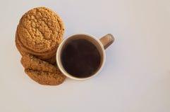 Tea med kakor Royaltyfria Bilder