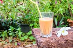 Tea med mjölkar Royaltyfri Foto
