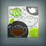 Tea Menu 02 A Royalty Free Stock Photography