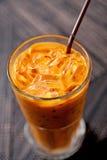 Tea with milk Stock Photos