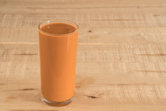 Tea with milk or popularly known as Teh Tarik in Malaysia Stock Photography