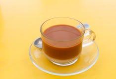 Tea with milk Stock Photography