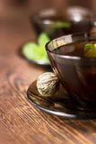 Tea with mint Stock Photos
