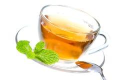 Tea and mint Stock Photo