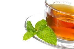 Tea and mint Stock Images